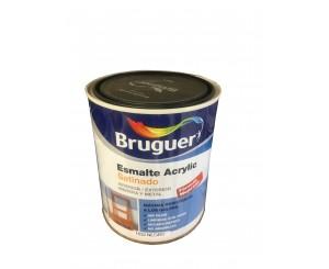 BRUGUER ESMALTE ACRILICO NEGRO SATINADO LAC. 250ml OFERTA