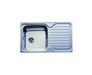 FREGADERO INOX CLASSIC 85x50 1C.1E. ORIFICIO GRIFO DCHA.