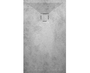 PLATO DUCHA STONE 3D 80x80 MICROCEMENTO LISO