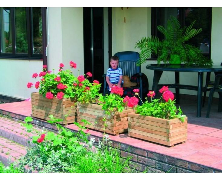 Jardinera 30x30x60 decoraci n jardiner a for Decoracion jardineria