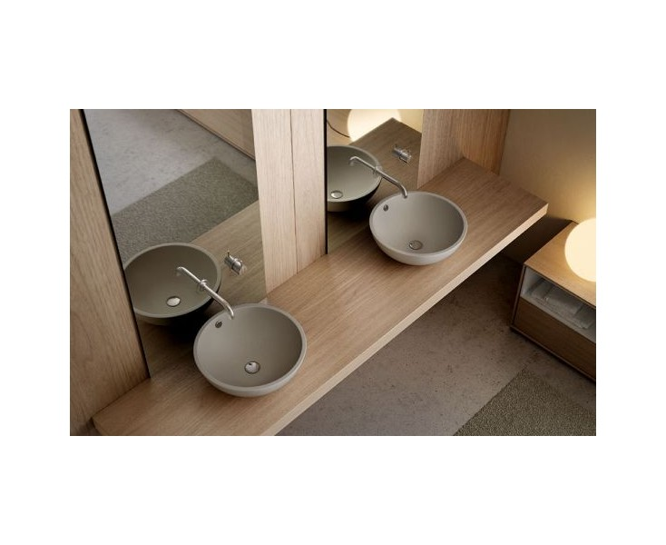 Lavabo castellon s encimera 430x145 natural lavabos for Registro bienes muebles castellon