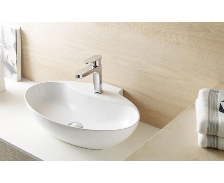 Senso Square Lavabo.Lavabo New Malaga 598x408x139 Blanco Wash Basin Sanitary