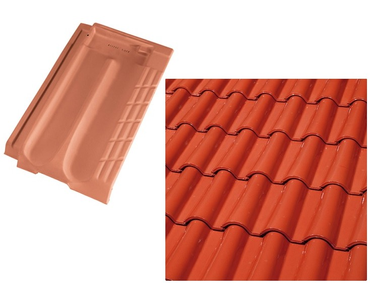 TEJA BORJA PLANA ALICANTINA ROJO CRISTAL (1C) - Roof Tiles