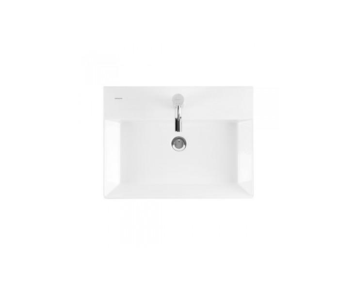 Lavabo Agres Unisan.Lavabo Novelda Plus S Worktop Mural 50x45 C White Hole